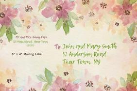 ROMEOANDJULIET WEDDING INVITATION Etiket template