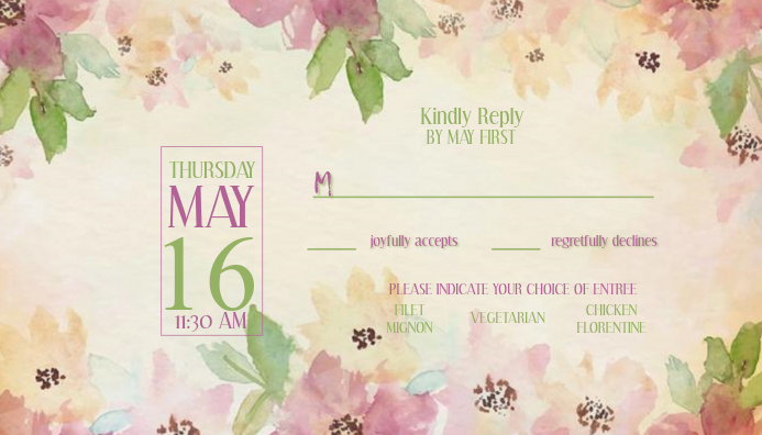 ROMEOANDJULIET WEDDING RSVP