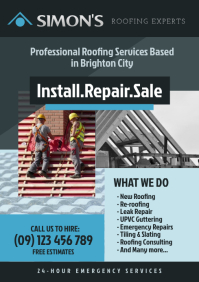 Roofing Company Flyer
