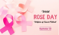 Rose Day Tag template