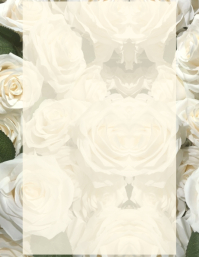 Rose Floral Template