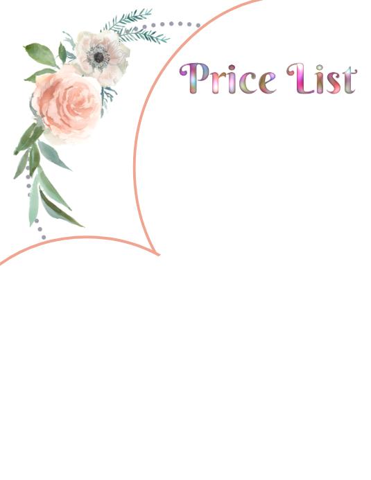 Rose Price List & Banner