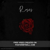 Roses albu Mixtape/Album Cover Video Template