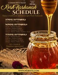 Rosh Hashanah Schedule