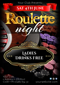 Roulette Night Poster
