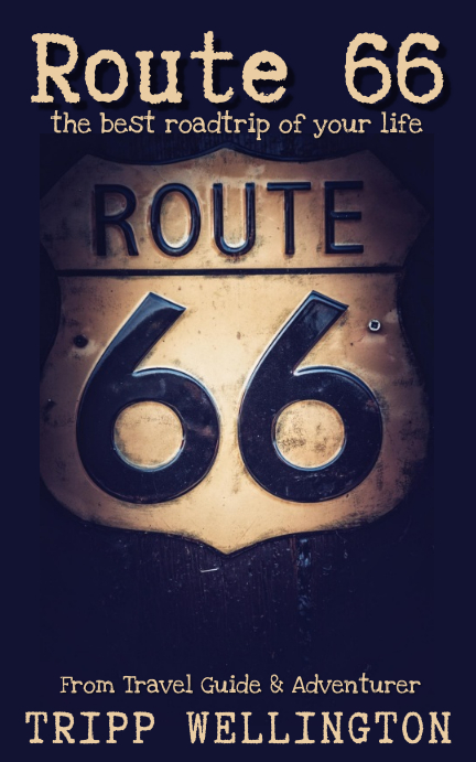 Route 66 Travel Guide Kindle/Book Covers template
