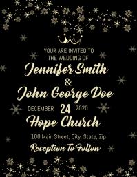 Royal Crown Wedding Invitation