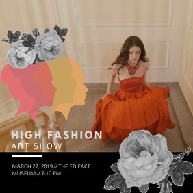 Royal High Fashion Show Ad
