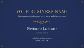 Royal style Business Card template