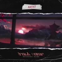 Royalty Free 4K Modern Album Cover Video 专辑封面 template