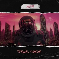 Royalty Free Modern Album Cover Video template