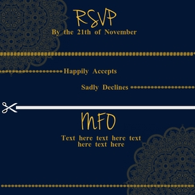RSVP Template Album Cover