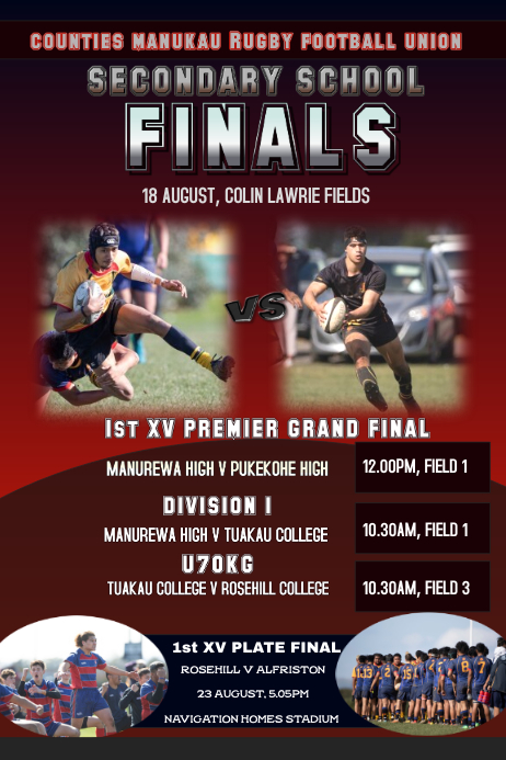 Rugby Finals Promotion