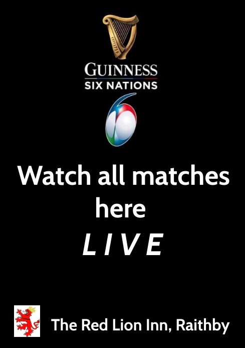 Rugby Live poster A4 template
