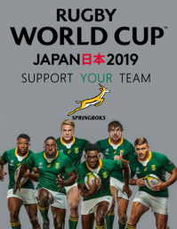 Rugby World Cup Template Flyer (US-Letter)