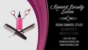 60 Customizable Design Templates For Hair Salon Business Card
