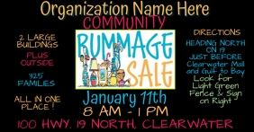 Rummage Sale Facebook Marketplace Size