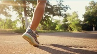 Run and road work out Miniatura di YouTube template
