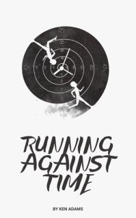 run time book cover template Copertina di Kindle