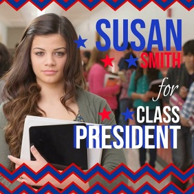 Runing For President Instagram Video Template