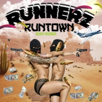RUNNERZ Album Cover template