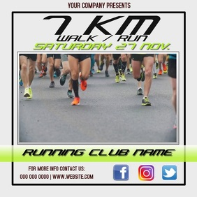 RUNNING EVENT AD