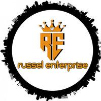 Russel Enterprise Logo template