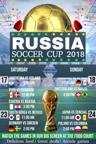 Russia Soccer Cup 2018