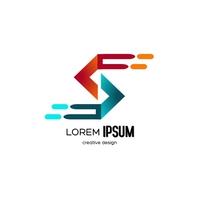 S Design Logo Logotyp template