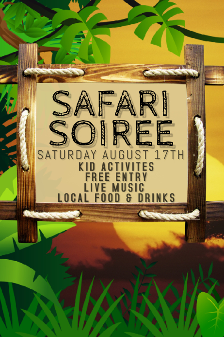 SAFARI PARTY EVENT