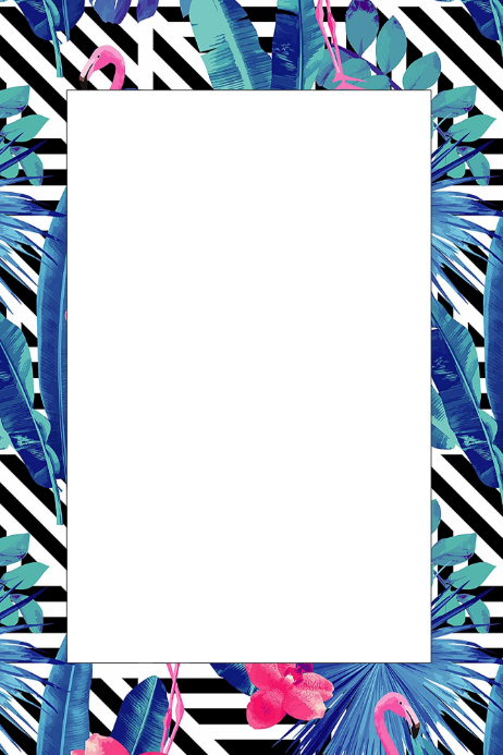 Safari Party Prop Frame Template | PosterMyWall