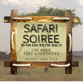 SAFARI SOIREE PARTY EVENT
