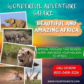 Safari Tour Instagram Template