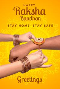 Safe Raksha Bandhan Template