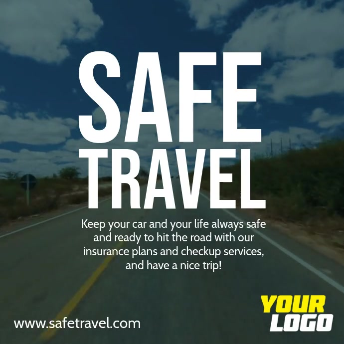 Safe Travel Square Ad