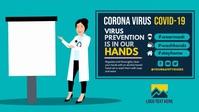 Safety Precautions Video Sampul Facebook (16:9) template