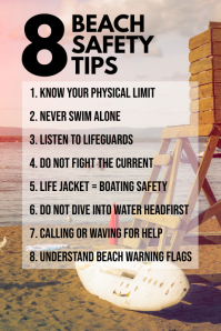 Safety Tips Poster