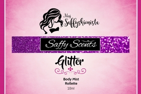 Saffy Scents Label template