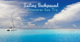 Sailing Background for Facebook template