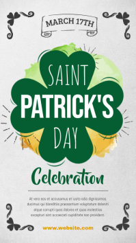 Saint Patrick's Day Celebration Event Digital Display Image