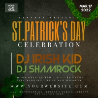 Saint Patrick's Day Celebration Instagram Party Banner