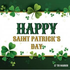 Saint Patrick's day Publicação no Instagram template