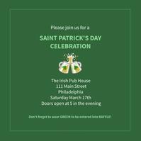 Saint Patrick's day Post Instagram template