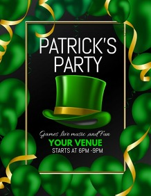 saint patrick's day flyers