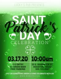Saint Patrick's Day Party Pub Flyer