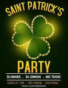 Saint Patrick's flyers