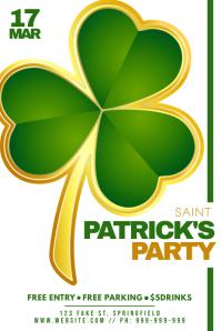 Saint Patrick's Party Poster
