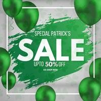 Saint Patrick, retail Publicación de Instagram template