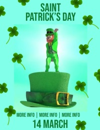 Saint Patrick's Day Party video Poster