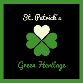 Saint Patrick Day Poster Template